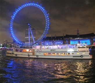 A London Party Boat